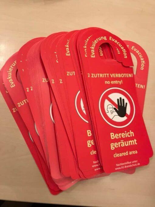 Evakuierungskarten