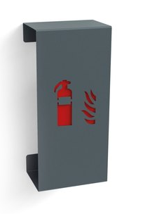 Design-Feuerloescherkasten-grau